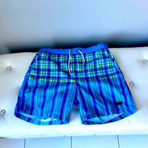 • Hugo Boss swim trunks blue